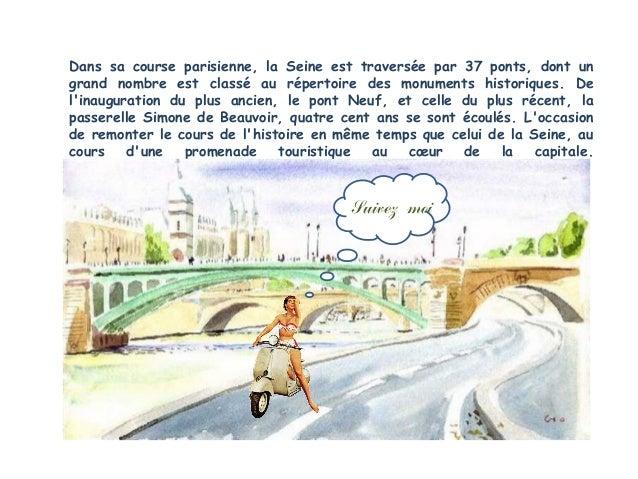 Liste des ponts de Paris sur la Seine01 Pont amont                               23 Pont du Carrousel02 Pont National     ...