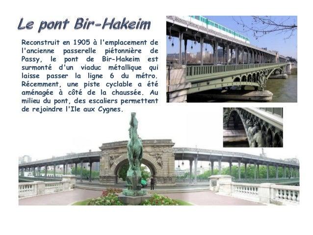 La passerelle Debilly est un pont pour piétons   et    vélos situé à Paris et traversant la Seine.Construite au débutdu XX...