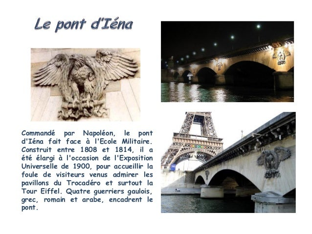 Inauguré par Napoléon III en 1856, le Pont de l'Alma rend hommage auxrégiments ayant combattu lors de la guerre de Crimée....