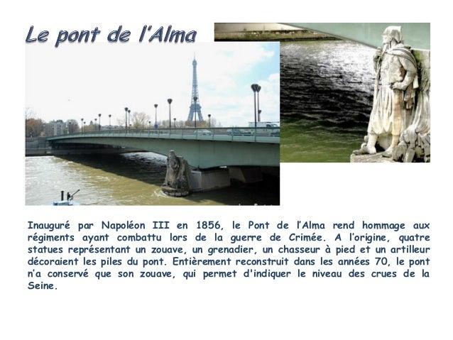 De tous les ponts parisiens, celui de laConcorde est celui qui supporte le plusde trafic, avec ceux du périphérique.En cha...