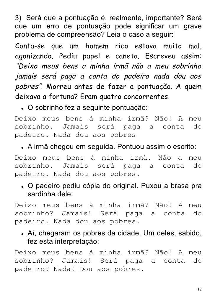 Excepcional Livrinho explicacao e atividades de pontuação SS18