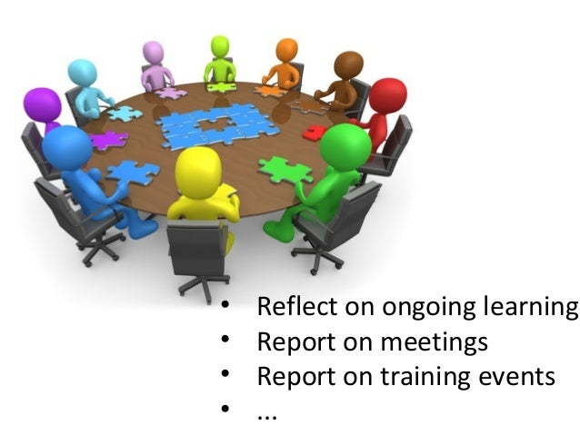 Reflect - a mobile App for learning Slide 2