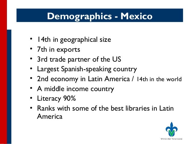Adoption of New Technology by Mexican State University Libraries Slide 3