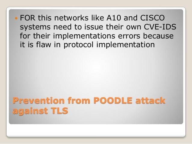 Cisco poodle security advisory