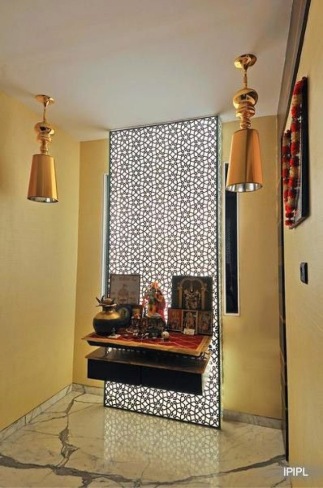 Pooja room interior styles