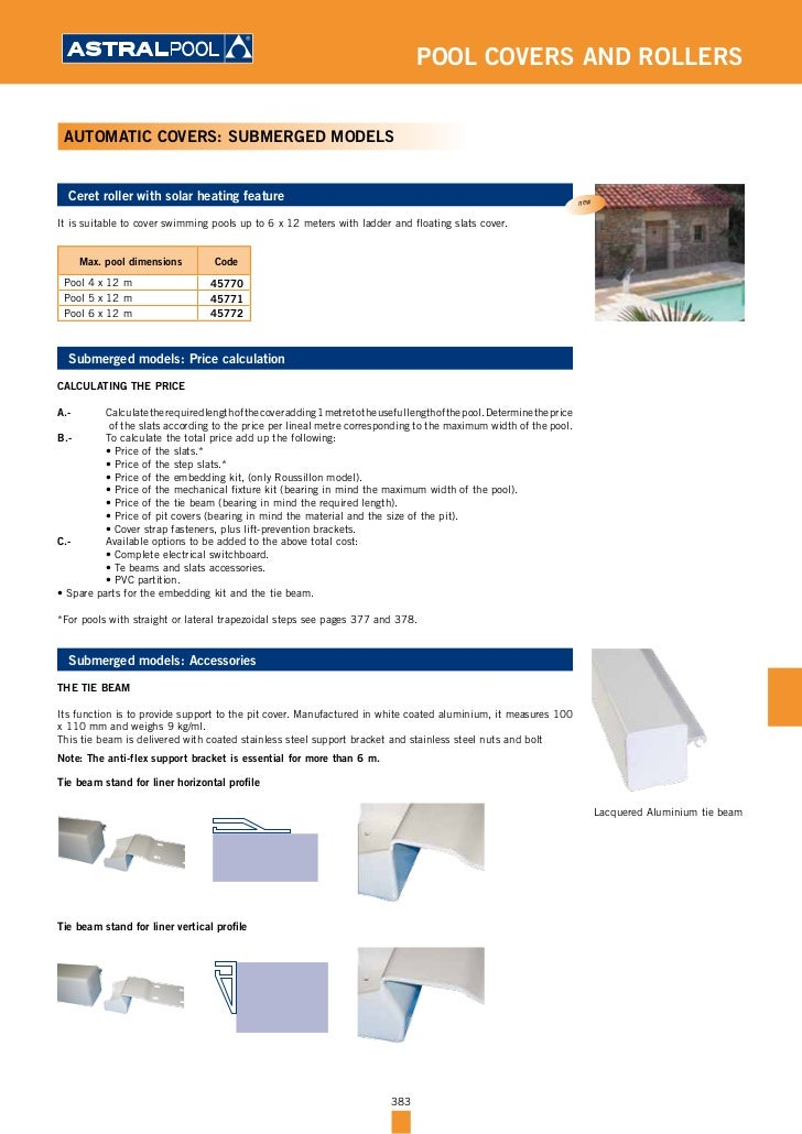 Pool covers and rollers