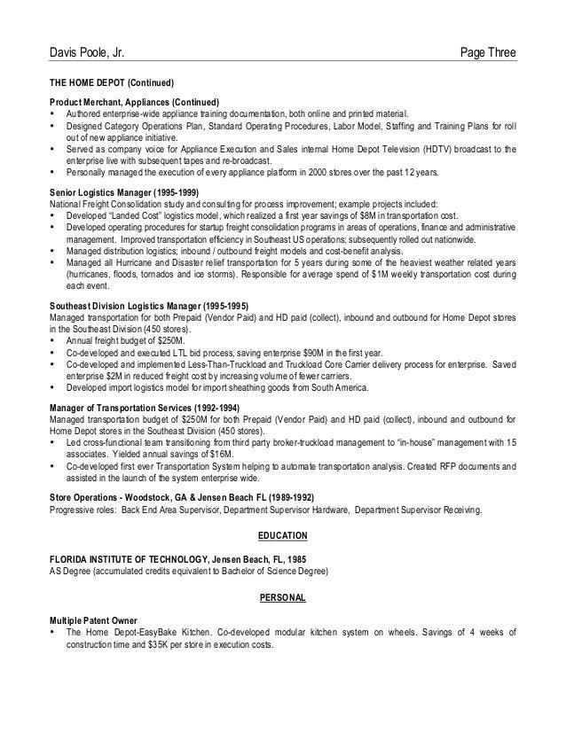 Superior Sales Associate Job Descriptions For Resume SampleBusinessResume Online Job  Resume Online Tutor Resume Samples Online Resumes Intended Home Depot Resume