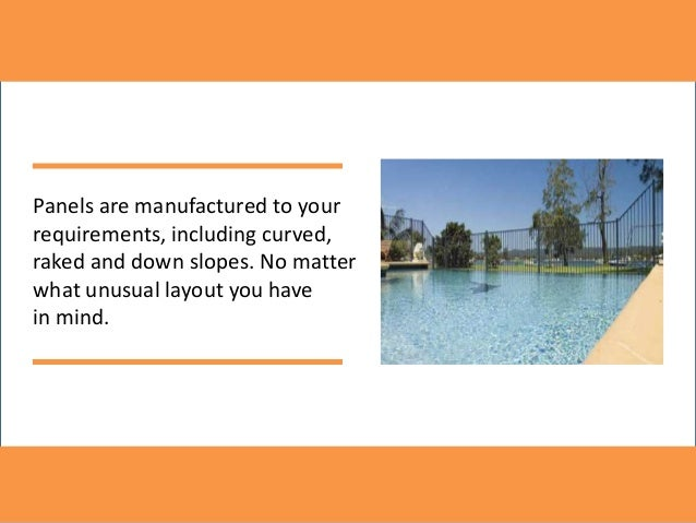 Pool fencing Slide 3
