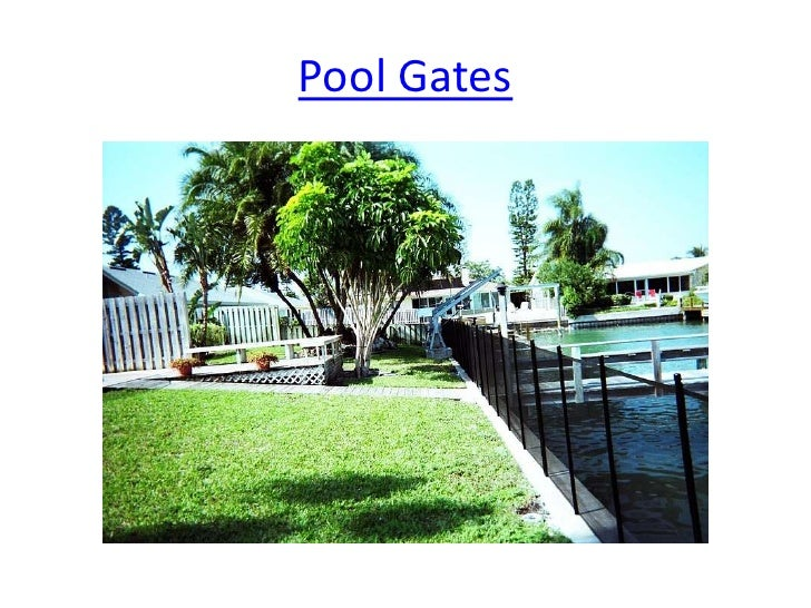 Pool Guard Safety Fence 1