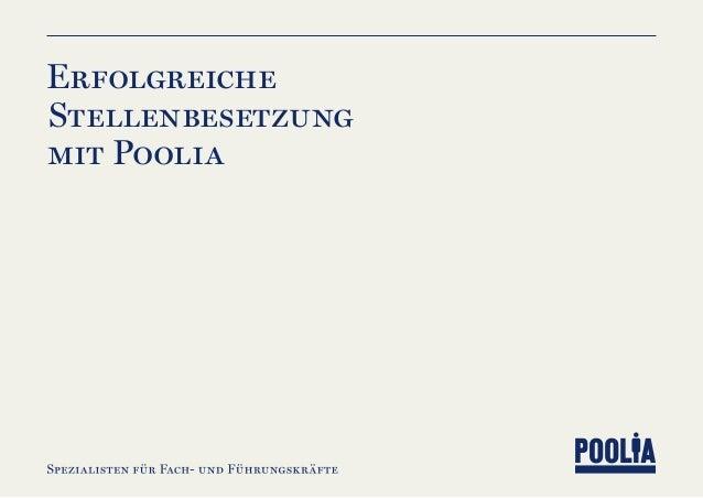 Erfolgreiche Stellenbesetzung mit Poolia