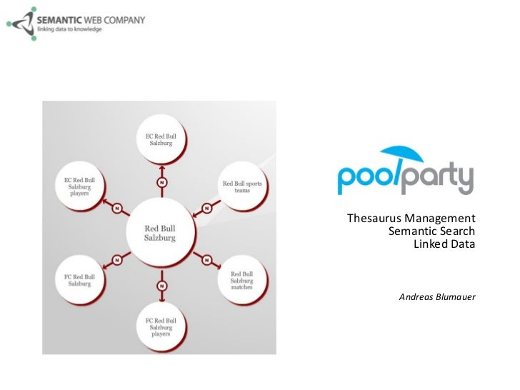 PoolParty Thesaurus Management Semantic Search Linked Data Andreas Blumauer