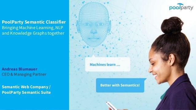 Andreas Blumauer CEO & Managing Partner Semantic Web Company / PoolParty Semantic Suite PoolParty Semantic Classifier Brin...