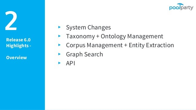 PoolParty Semantic Suite - Release 6.0 (Technical Overview) Slide 3