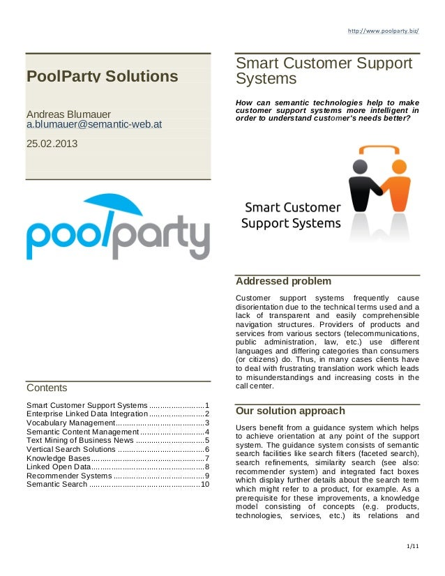 http://www.poolparty.biz/	  	                                                                           Smart Customer Sup...