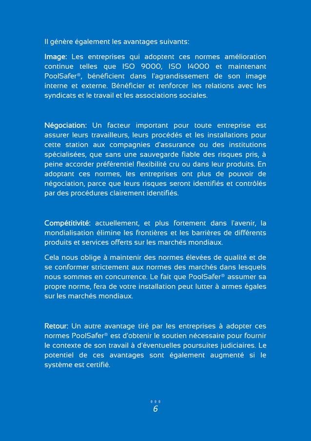6 Il génère également les avantages suivants: Image: Les entreprises qui adoptent ces normes amélioration continue telles ...