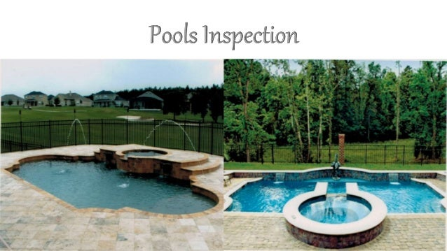 Pool Testing Services : Pools inspection