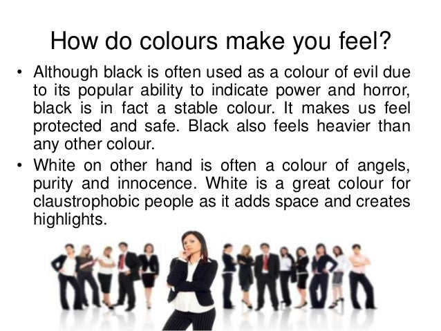 How Do Colors Make You Feel It Is Typically Located In