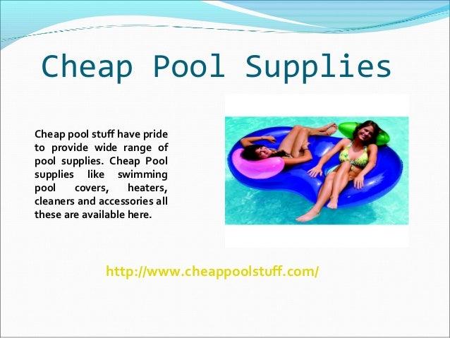 Pool Supplies Online By Cheap Pool Stuff