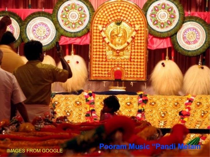 """Pooram Music """"Pandi Melam IMAGES FROM GOOGLE"""