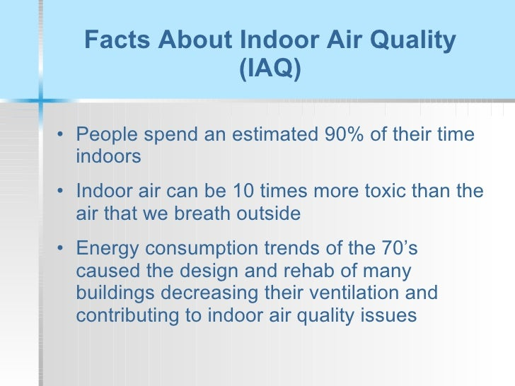 Poor indoor air quality for Interior design and indoor air quality