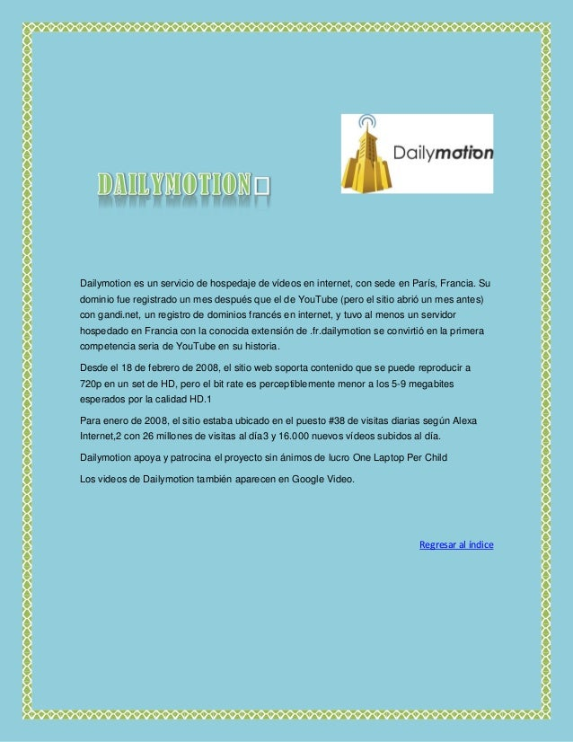 Portales para compartir video PDF Slide 3