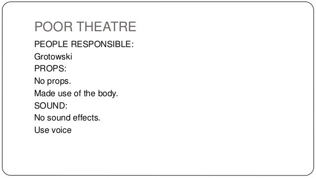 Poor Theatre SA Pre 1994 Woza Albert A Workshopped Play