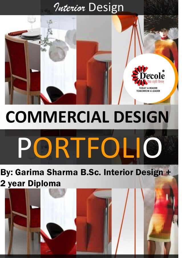 PORTFOLIO Interior Design By Garima Sharma BSc 2 Year