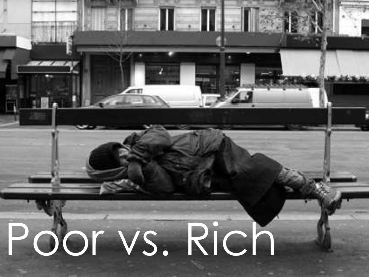 The Growing Gap between the Poor and the Rich