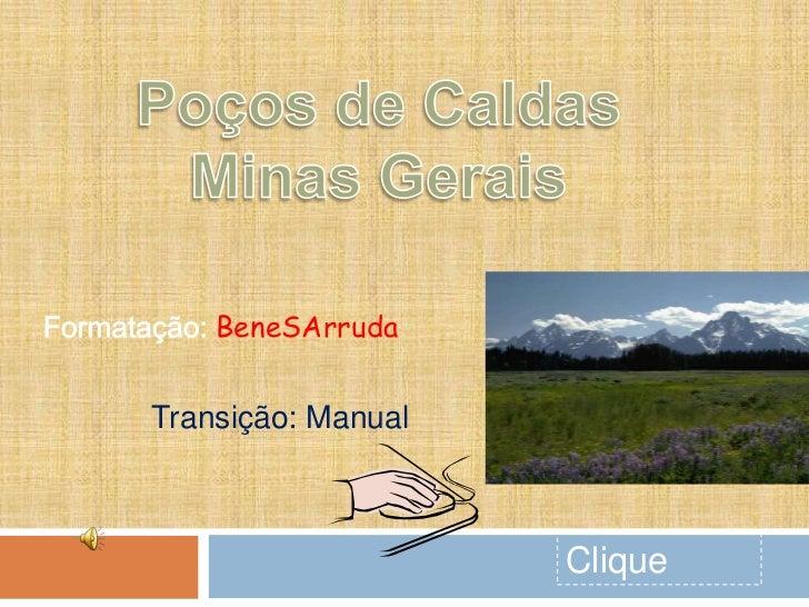 BeneSArrudaTransição: Manual                    Clique