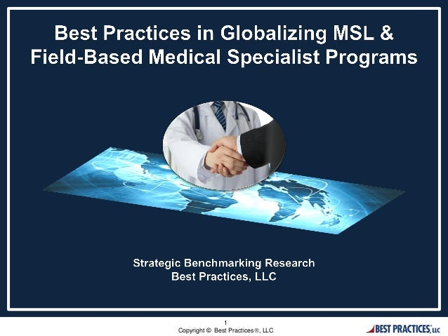 overcoming the challenges of a global msl program