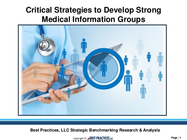best-in-class strategies to develop effective medical information gro…, Skeleton
