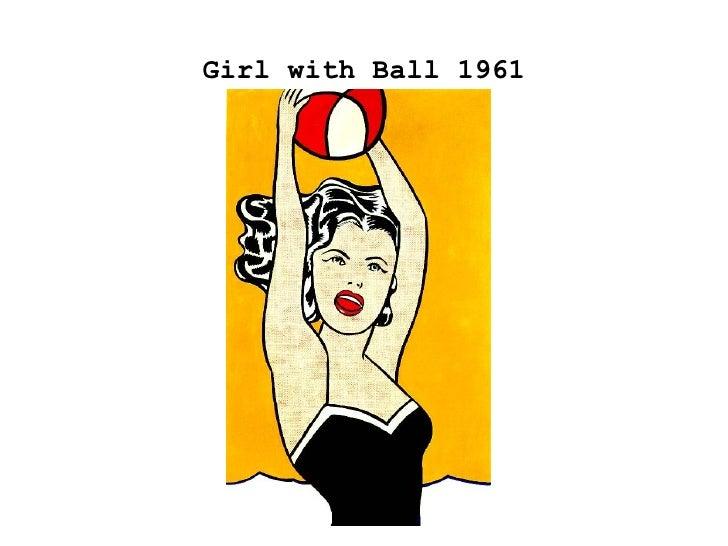 Girl with Ball 1961