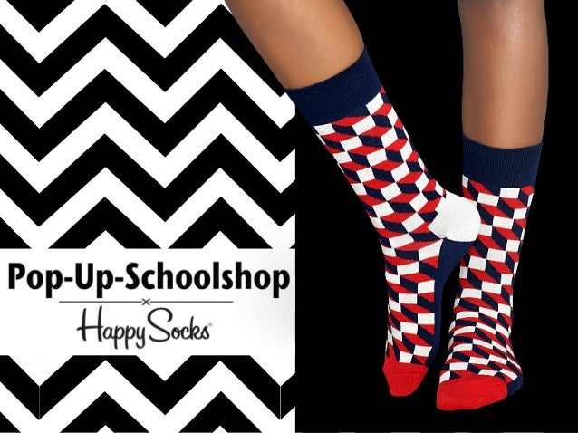 Pop-up-schoolshop Happy Socks