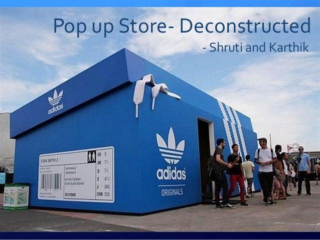 Pop up Store- Deconstructed - Shruti and Karthik