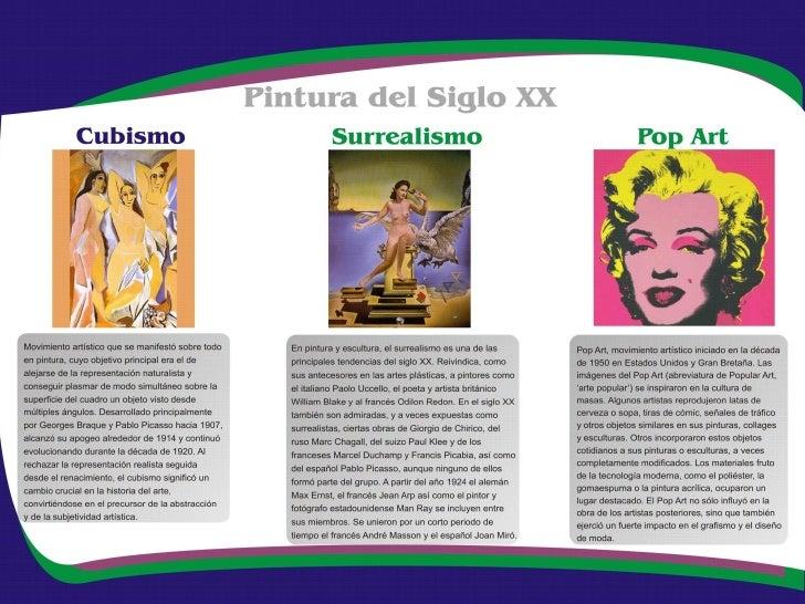 Arte Pop                                                Como su propio nombre indica, el Expresionismo Abstracto          ...