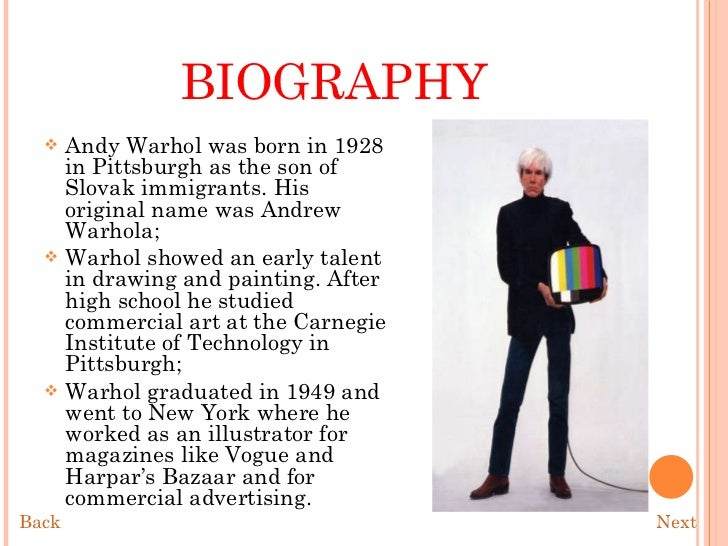 an analysis of andy warhols art Blog arthur danto on andy warhol's brillo box a distinguished philosopher of art, found the analysis frankly incomprehensible the andy warhol museum.