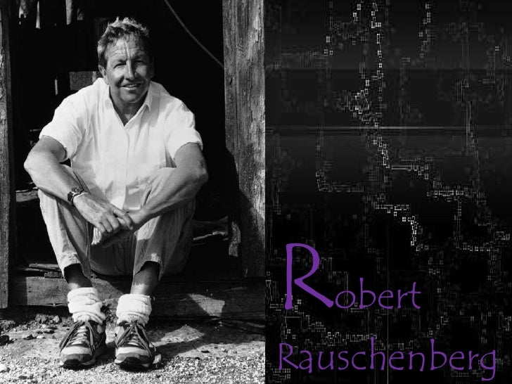 RobertRauschenberg<br />