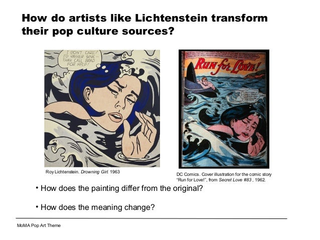 Pop Art Appropriation 1 Not Created By Tania Sheko