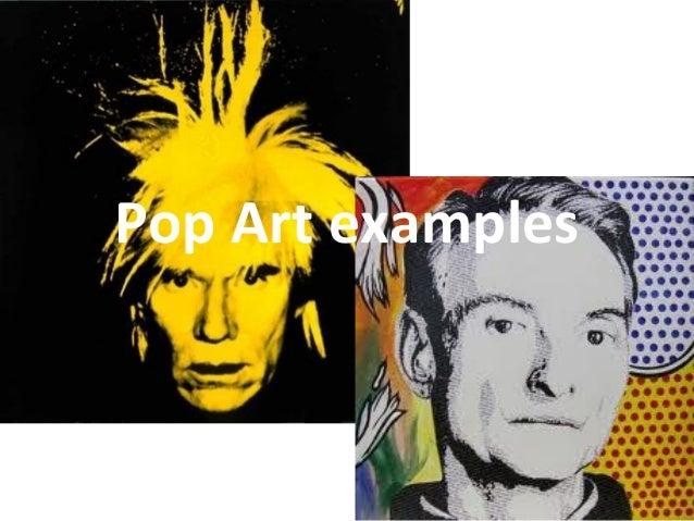 Pop Art examples