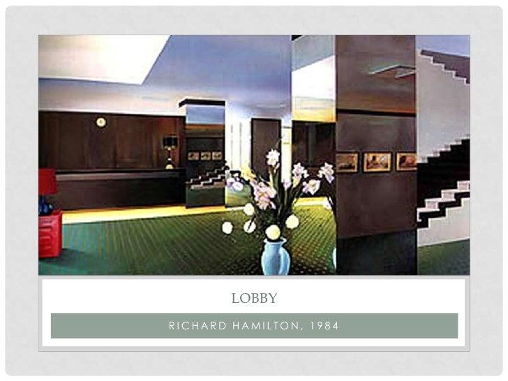 Pop art powerpoint lobbyrichard hamilton 1984 toneelgroepblik Choice Image