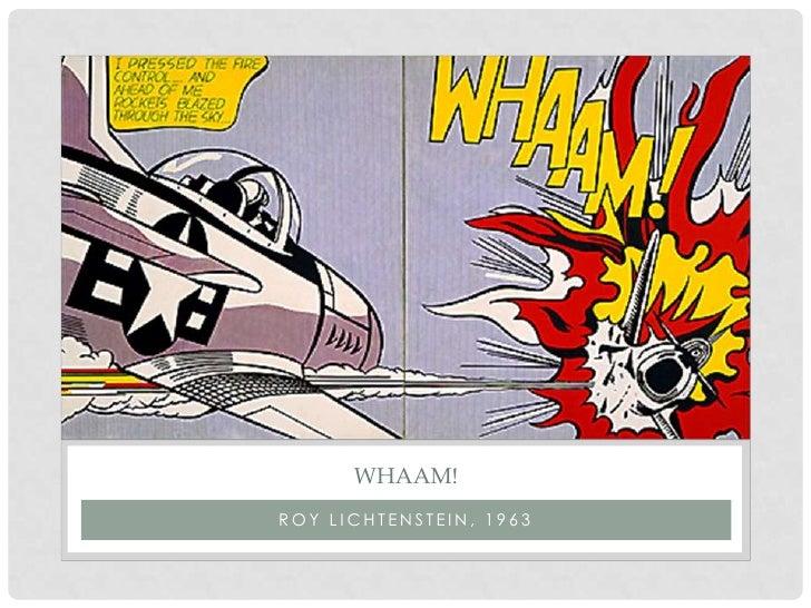 Pop art powerpoint roy lichtenstein 1963 toneelgroepblik Images