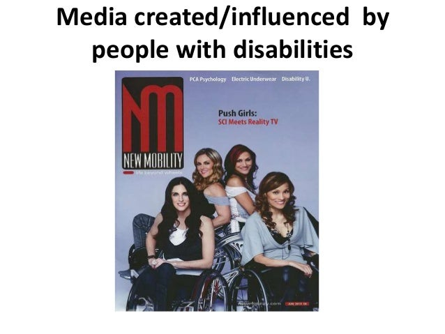 the media s representation of disabilities Representation of disability  it is small wonder that media representation of the disabled is limited and laregely stereotypical if the word disabled can be .