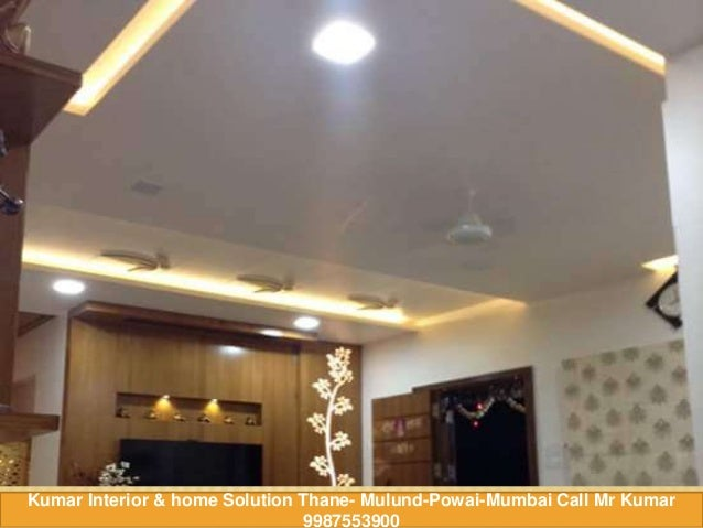 The Best False Ceiling Design Ideas With LED Lighting!! Call Kumar Interior  9987553900