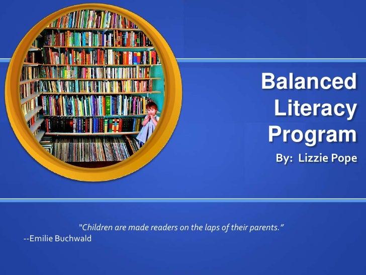 Balanced                                                                  Literacy                                        ...