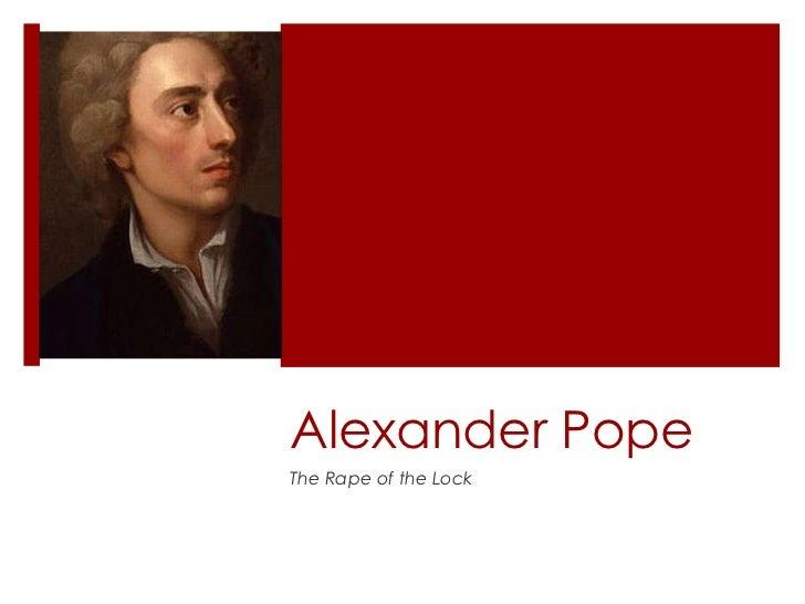 Alexander PopeThe Rape of the Lock