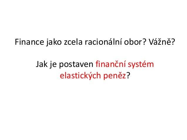 Mojmír Hampl, prezentace v rámci setkání Štik českého byznysu Slide 2