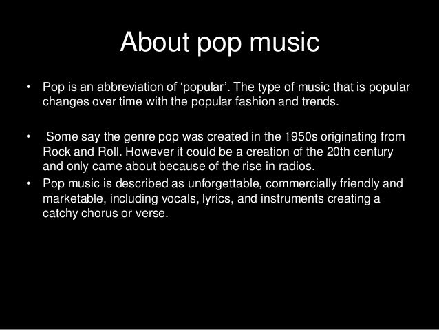 an introduction to the history of pop music While many now think of classical music as stodgy and stiff,  history of pop music:  what is classical music - definition, history & composers related study.