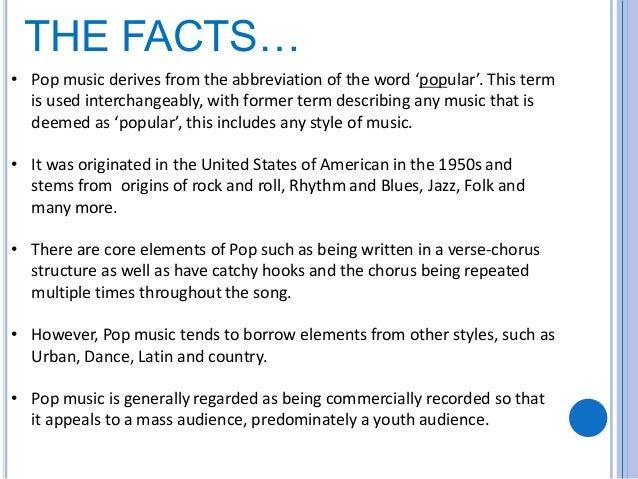 the influences of music In 1963 and the years to follow, a number of social influences changed what popular music was and gave birth to the diversity that we experience with music today.