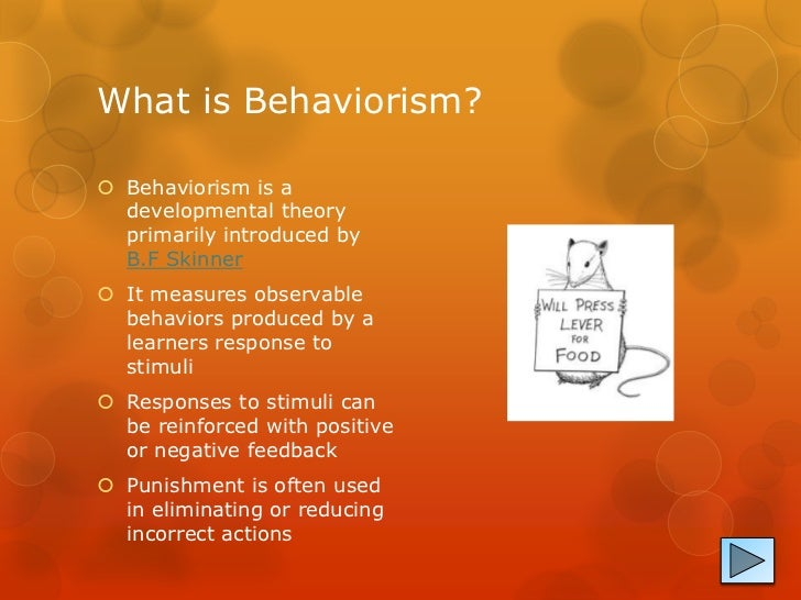Behaviourist Theories of Personality