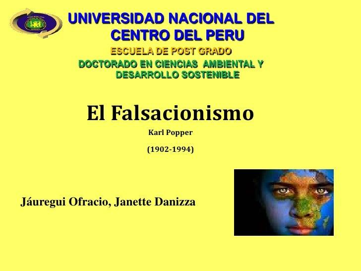 UNIVERSIDAD NACIONAL DEL CENTRO DEL PERU<br />ESCUELA DE POST GRADO<br />DOCTORADO EN CIENCIAS  AMBIENTAL Y DESARROLLO SOS...